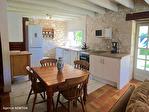 LOT ET GARONNE.  PRES BEAUVILLE  Ravissante ensemble  Grange et  petite maison en pierre, belle vues sans voisinage 8/18