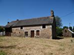 Frontière Ille et Vilaine / Manche - près de Pontorson - Belle maison en pierre avec 3 chambres, une grange en pierre et un gîte séparé à rénover sur 1 acre de terrain. 14/18