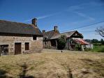 Frontière Ille et Vilaine / Manche - près de Pontorson - Belle maison en pierre avec 3 chambres, une grange en pierre et un gîte séparé à rénover sur 1 acre de terrain. 18/18