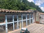 TARN ET GARONNE.  MONTAIGU DE QUERCY - Maison en pierre avec 2 chambres, toit terrasse et parking 15/18