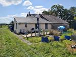 MORBIHAN, Bréhan, Maison en pierre de 3 chambres sur 2 acres, tracteur avec outils et dépendances 8/13