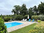 Tarn-et Garonne, MONTPEZAT DE QUERCY- 4 ch. maison en pierre rénovée avec piscine et vignoble. 2/18