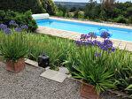 Tarn-et Garonne, MONTPEZAT DE QUERCY- 4 ch. maison en pierre rénovée avec piscine et vignoble. 13/18