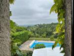 Tarn-et Garonne, MONTPEZAT DE QUERCY- 4 ch. maison en pierre rénovée avec piscine et vignoble. 16/18