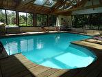 COTES D'ARMOR -PLELAUFF :  Une superbe maison indépendante de 5 chambres, avec un grand pool house avec piscine chauffée! 12/18