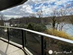 LE PECQ Bord de Seine, Vue panoramique sur la Seine et la Terrasse du Chateau de ST Germain 15/16