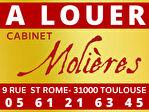 TOULOUSE COEUR SAINT CYPRIEN - Local commercial Toulouse 50 m2 avec cave 53m² 1/2