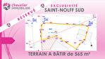 SAINT-NOLFF SUD - TERRAIN A BÂTIR DE 565 m² 1/1