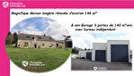 AU BOURG : MAGNIFIQUE LONGERE RENOVEE AVEC GRAND GARAGE ! 2/14