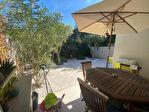 Caveirac,  agréable appartement P3 en rez de jardin avec garage et  terrasse. 10/14