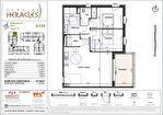 Appartement T3 avec terrasse et 2 parkings 2/4