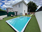 Villa meublée 3 chambres, garage et piscine 10/10