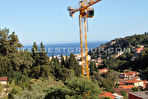 MENTON - 2 PIECES  vue mer panoramique 5/8