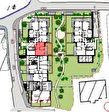 Anthy - F3 avec jardin dans Nouvelle résidence au coeur du village. 4/6