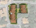 Anthy - F3 avec jardin dans Nouvelle résidence au coeur du village. 5/6