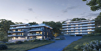 Appartement F3 à vendre à EVIAN LES BAINS - Vue lac 1/7