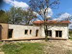 Maison BIOCLIMATIQUE en ossature BOIS, et isolation PAILLE. 4/5