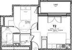 A VENDRE Appartement T2 neuf, ALBI, avenue Gambetta 4/7