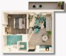 A VENDRE : Appartement T2 + PARKING 1/7