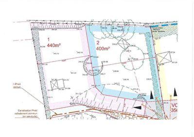 Terrain Heyrieux 440 m2 viablise