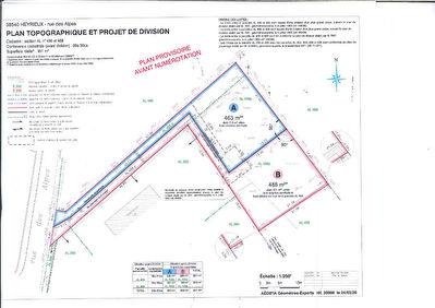 Heyrieux Terrain  a batir de 463 m2 lot A