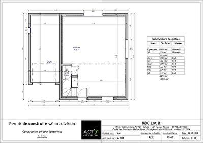 Terrain Heyrieux 488 m2 Lot B