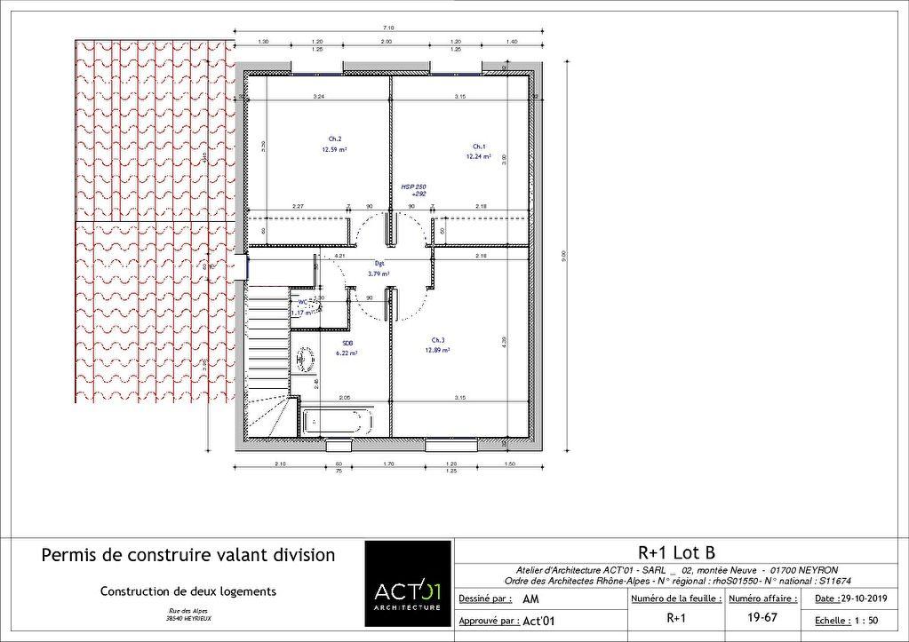 Terrain Heyrieux 488 m² Lot B