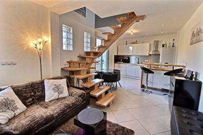 Duplex Tinqueux 3 pieces 45.50 m2