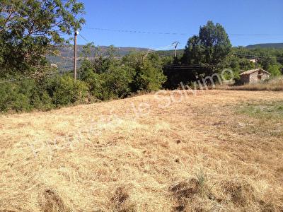 Terrain constructible a vendre vallee de la Meouge