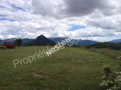 A vendre terrain constructible au nord de Sisteron