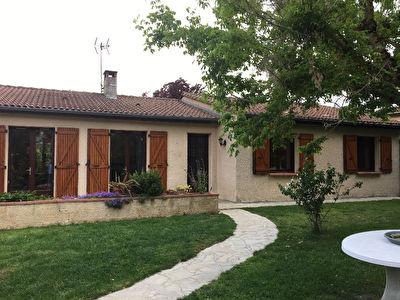 Maison Pechabou Plain pied 4 pieces 110 m2