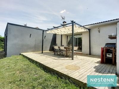 Maison a vendre proche Saint-Orens - 6 pieces, 160m2 sur 1130m2 de terrain arbore.