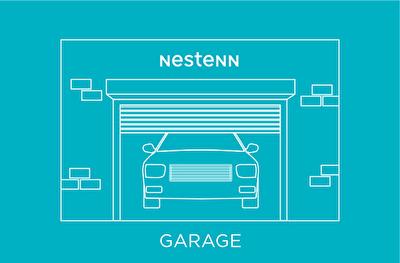 A louer GARAGE FERME a CASTANET TOLOSAN de 12m2