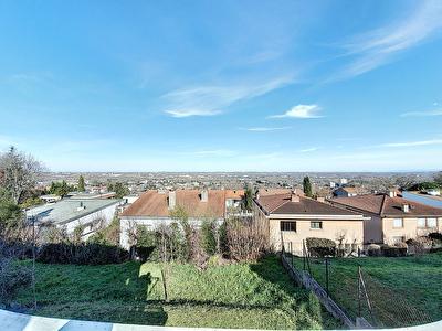 Maison a vendre 7 pieces 150 m2 avec garage de 22 m2 sur un terrain d'environ 600 m2 sur les hauteurs de la commune de Ramonville Saint-Agne