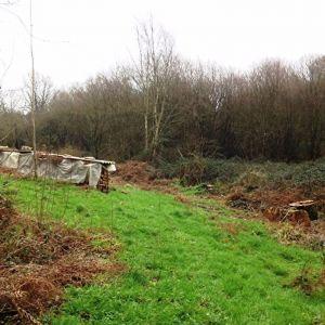 Terrain boise non constructible 1.8 ha