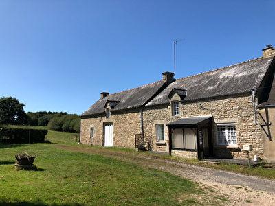 Maison en pierre a SERENT avec 5000 m2