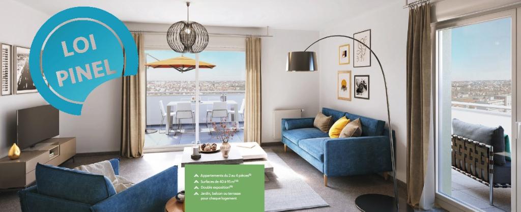 INVESTISSEMENT PINEL - Appartement Clermont Ferrand 63 m² 2 chambres