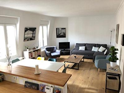 Appartement Asnieres Becon 4 pieces 73.4 m2