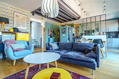 Toulouse -  Grand appartement T2 Bis contemporain avec une place de stationnement