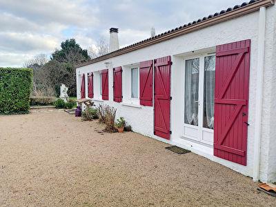 Maison plain-pied 3 chambres 105 m2 a Aubigny