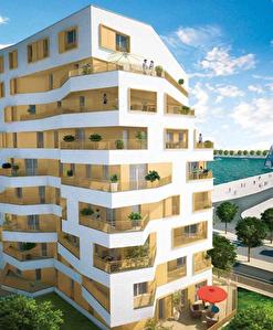 logement T5 neuf Bordeaux face bassin a flot, grande terrasse