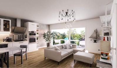 Appartement Pessac Centre 4 pieces 86 m2 avec Terrasse de 12 m2
