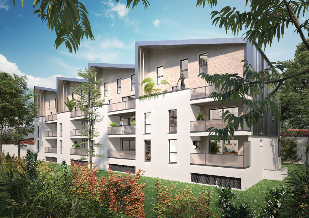 Appartement Bordeaux Bastide 4 pièces duplex 93.87 m2 avec balcon