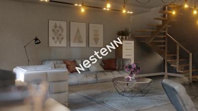 Duplex Pessac Noes  4 pieces 87.4 m2 terrasse et jardin