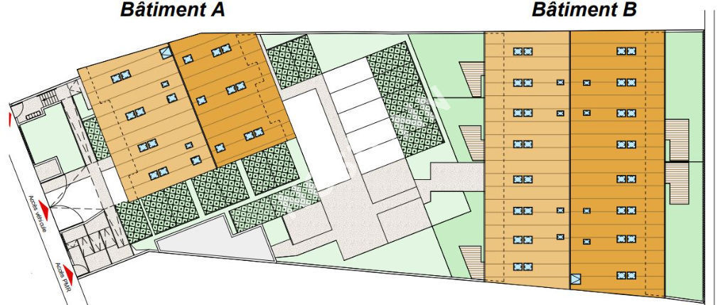 Appartement Talence  T4 avec terrasse et jardinet