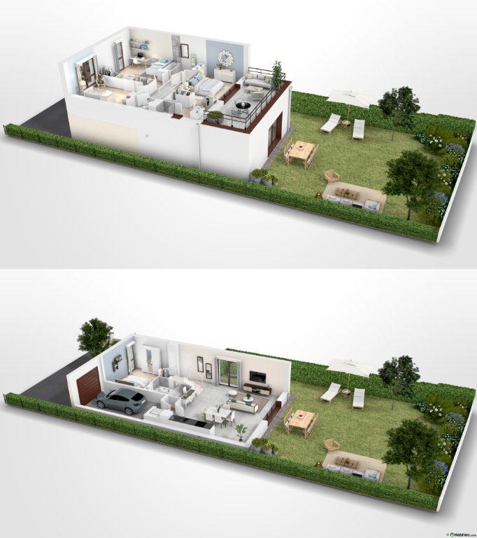 Maison Gradignan 4 pièce(s) 91.68 m2