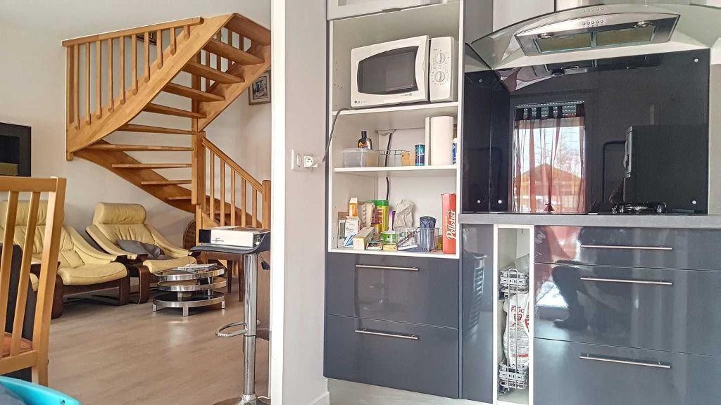 Duplex 62.96 m², jardinet, construction 2016, OLIVET