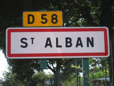 Terrain Saint Alban 374 m2