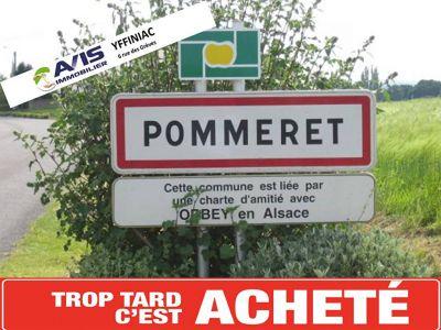 Terrain de 2054 m2 - POMMERET