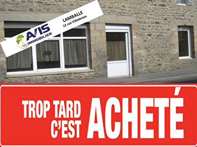 Appartement Lamballe 3 pieces